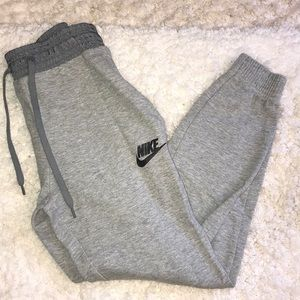 Gray Nike joggers!
